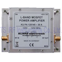KU PA 125145-30 A, RF Power Amplifier 1250-1450MHz 30 W