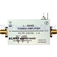 KU PA 120150-1 A, GaAs-FET Power Amplifier 1250-1500 MHz 1 W