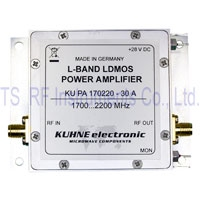 KU PA 170220-30 A, RF Power Amplifer 1700-2200 MHz 30 W