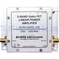KU PA 220250-4 B, GaAs-FET Power Amplifier 2200-2500 MHz 4W