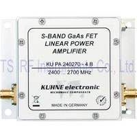 KU PA 240270-4 B, GaAs-FET Power Amplifier 2400-2700 MHz 4W