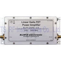 KU PA 230260-4 A, GaAs-FET Power Amplifier 2300-2600MHz 4W