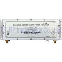 KU PA 200250-18A, RF Power amplifier 2000-2500MHz 18W