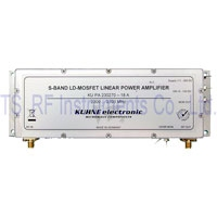 KU PA 230270-18 A, RF Power Amplifier 2300-2700MHz 18W