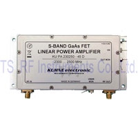 KU PA 230250-45 D, GaAs-Fet power amplifier 2300-2500MHz 45W