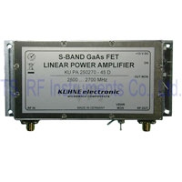 KU PA 250270-45 D, GaAs-FET Power Amplifier 2500-2700MHz 45W