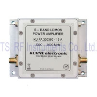 KU PA 330360-16 A, MOSFET-Power Amplifier 3300-3600MHz 16W