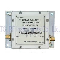 KU PA 340500-2 A, RF Power Amplifier 3400-5000MHz 2W