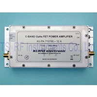 KU PA 710790-12A, RF Power Amplifier 7100-7900MHz 12W