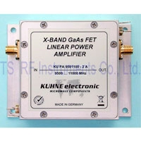 KU PA 9501100-2 A, GaAs-FET Power Amplifier 9500-11000MHz 2W