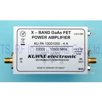 KU PA 10001050-4 A, GaAs-FET Power Amplifier 10000-10500MHz 4W