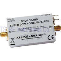 KU LNA BB 0515-2 A SMA, Broadband Amplifier 5-1500MHz