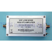 KU LNA BB 005010 A, Low Noise Broadband Amplifier 45-100MHz