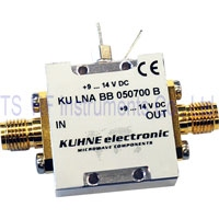 KU LNA BB 050700 B, Broadband Low Noise Amplifier 500-7000MHz