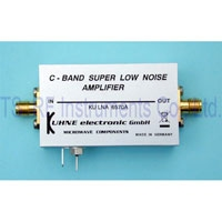 KU LNA 6570 A, Broadband Super Low Noise Amplifier 6500-7000MHz